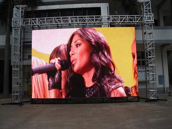 China outdoor SMD led display