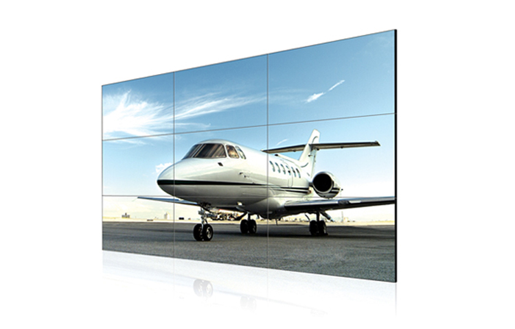 Supply high resolution 55 inch lcd video wall splice screen