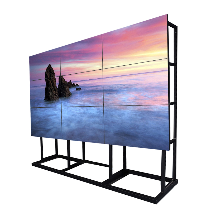 lcd video wall 50 inch 3.5mm bezel walls indoor digital signage screen