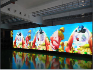 P3.91 indoor Led curve screen with rental cabinet