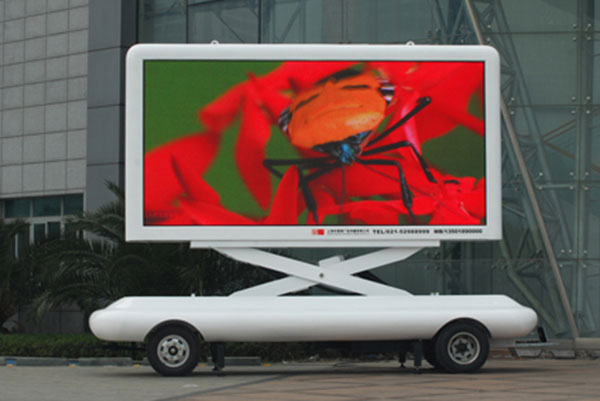 The top 10 mobile advertising led trailer screen