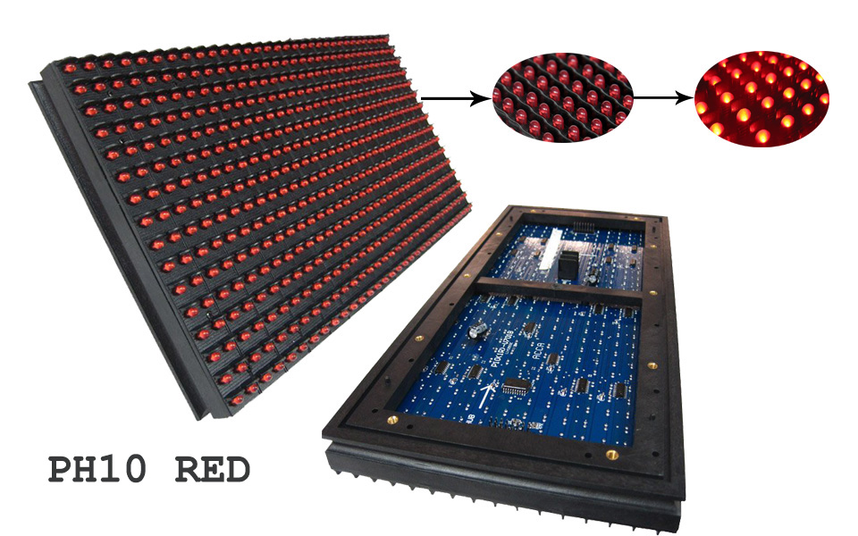 Red LED Screen Module