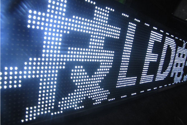 P10 Outdoor White Led Display