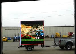 rental advertising and marketing led display